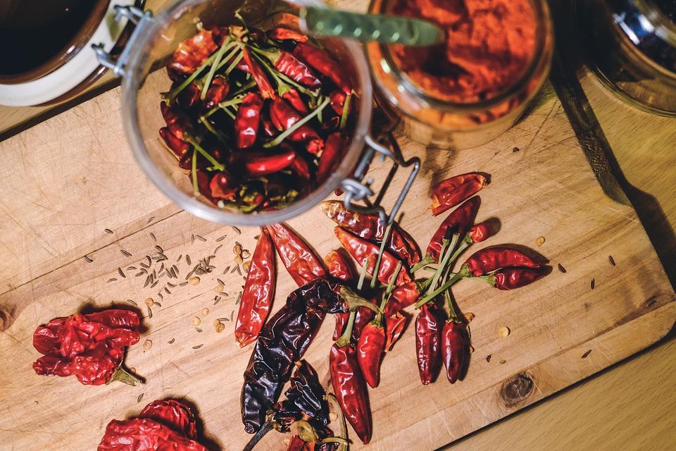 Chili papričky sú zdravé