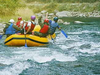 Rafting na Hrone