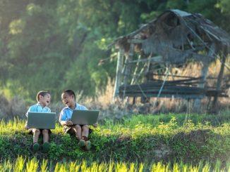 Deti s počítačom