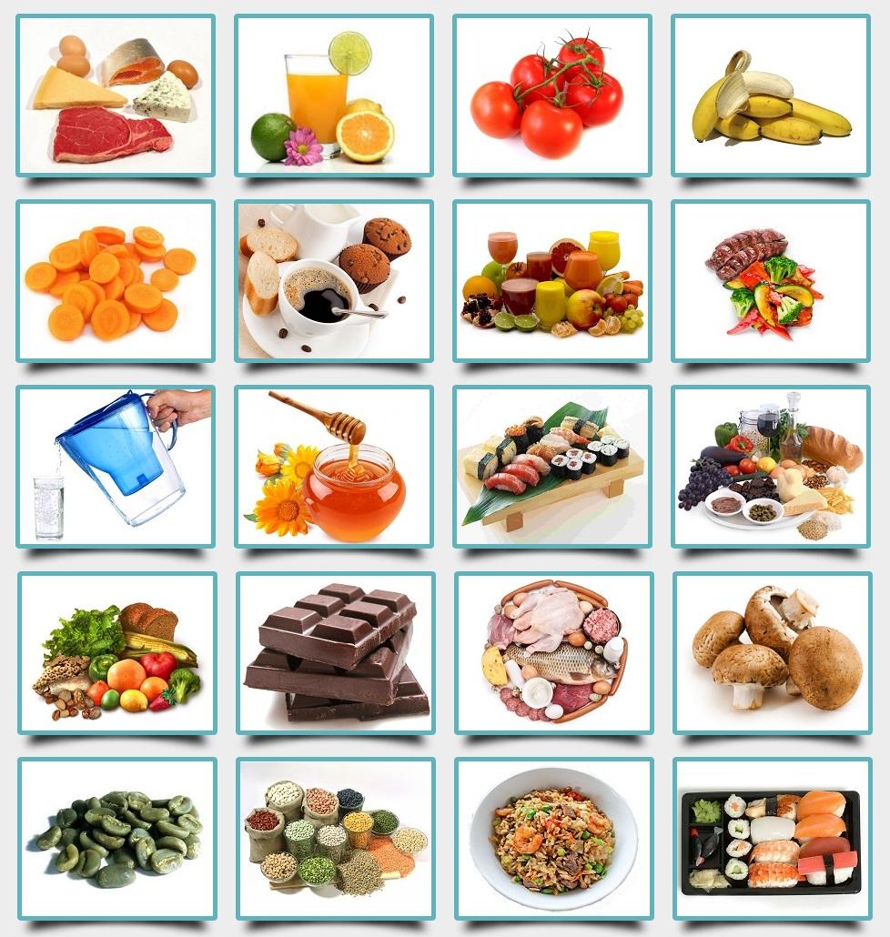 20 druhov diét