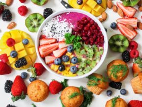 Potraviny na pokožku