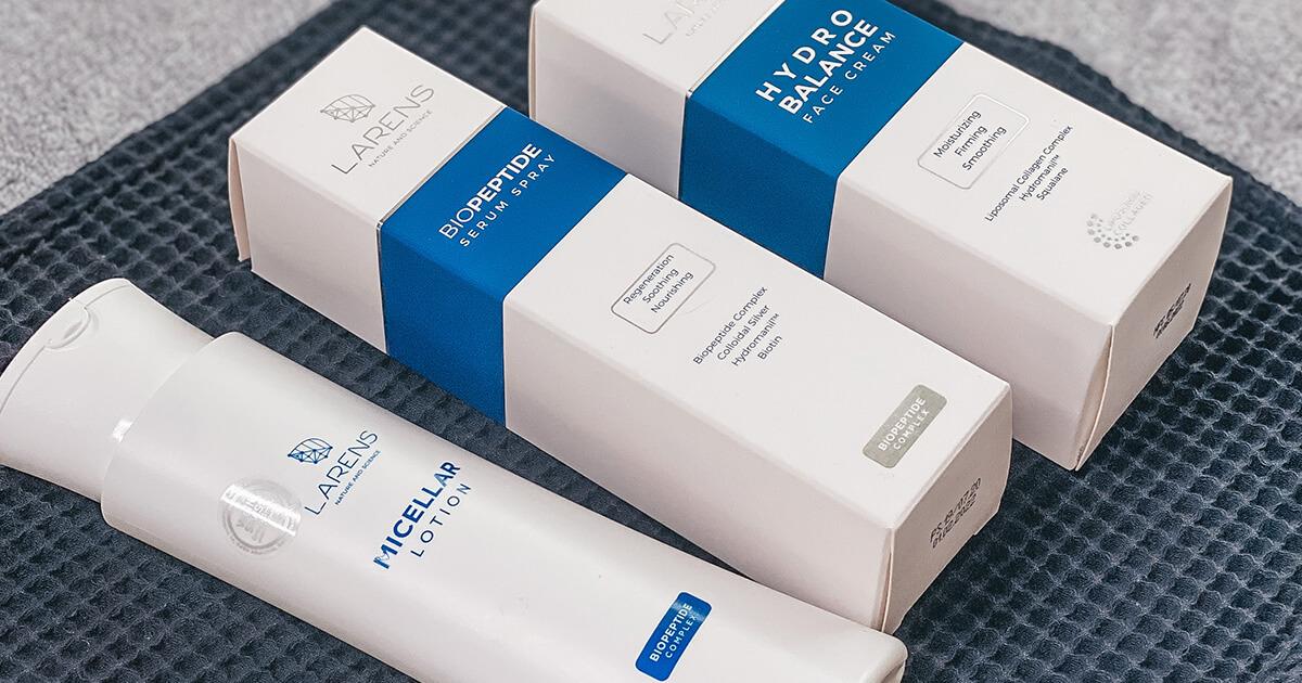 Laren serum spray a face cream