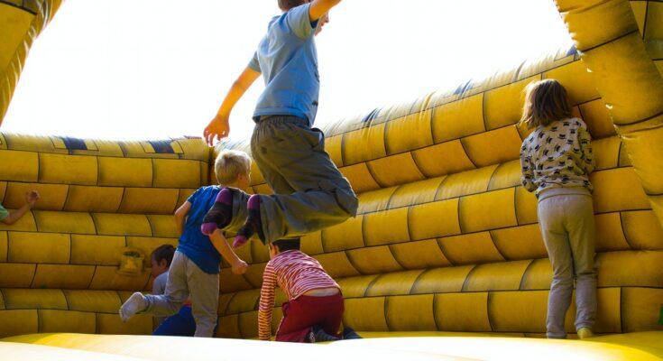 Skákací hrad pre deti